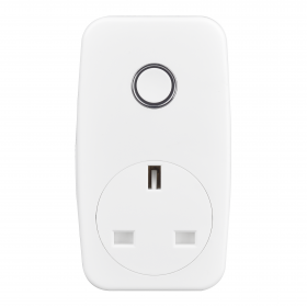 British General Electrical Smart Power Adapter Socket 13A White Moulded AHC/U-01