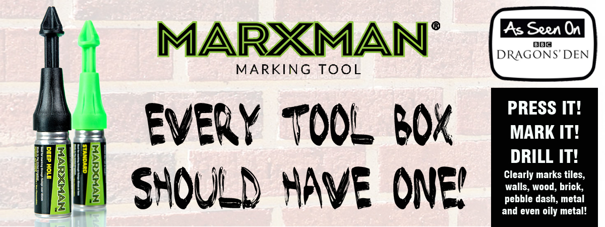 Marxman Green Chalk Non Permanent Marking Tool