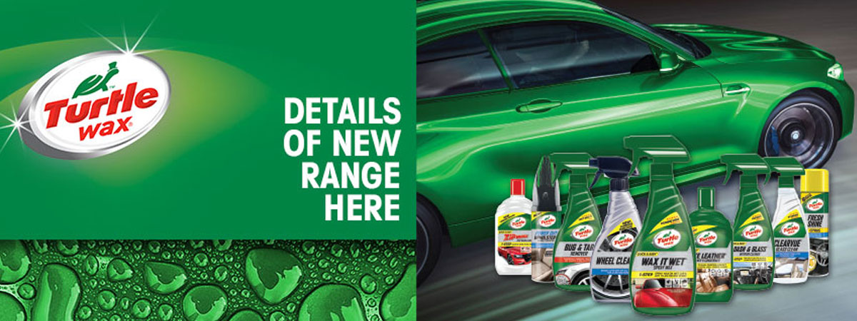 Turtle Wax Range