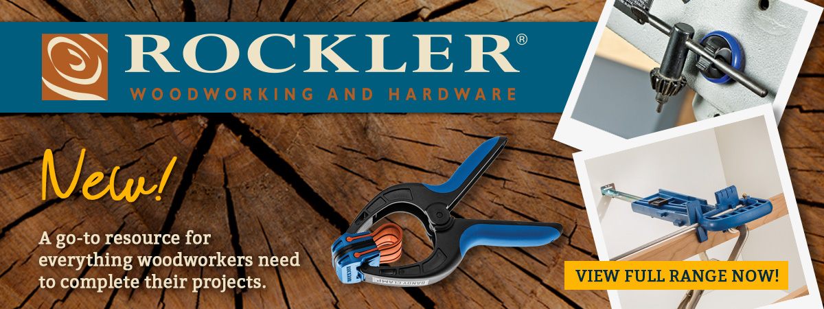 Rockler Now Available at Qwikfast