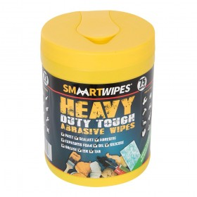 SMAART Heavy Duty Tough Abrasive Wipes 75pk