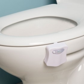 Croydex AJ100122E Colour Changing Toilet Pan Night Light