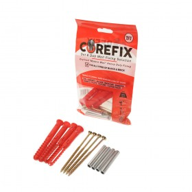 Corefix Original Heavy Duty Dot & Dab Drylined Plasterboard Fixing Pack of 4