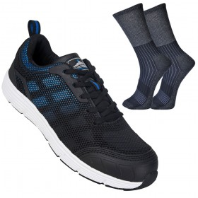 Portwest FT15 Steelite Tove Trainer S1P & FREE Socks