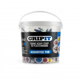 GripIt Assorted Trade Tub Plasterboard Fixings 100pce