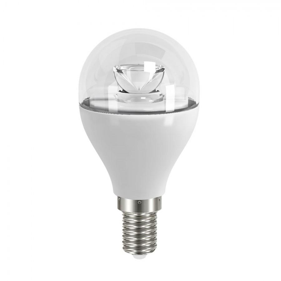 Energizer 6w 40w Non Dim Led Clear Candle Ses E14 Warm: Affinity 6w (40W) LED E14 SES Clear Mini Globe Lamp 250lm