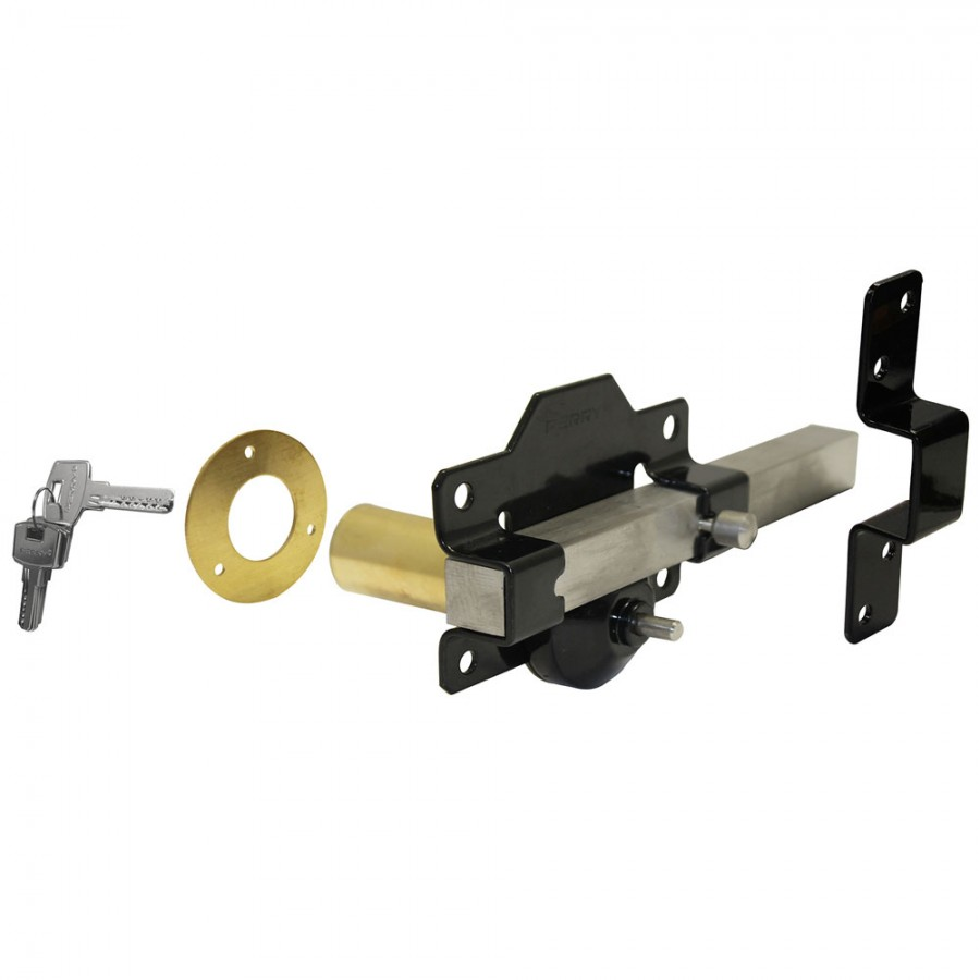 Gatemate Premium Single Locking Long Throw Lock 50mm 2