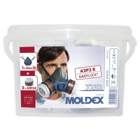 Moldex 7232 A2P3 Pre-Assebled Dust Mask With Storage Box