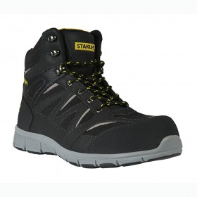 Stanley Pulse Safety Boots Royal Black/Black