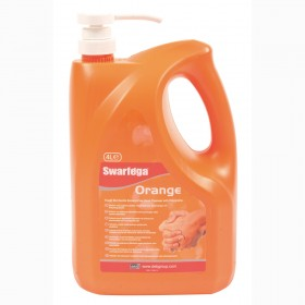 Swarfega Orange Heavy Duty Hand Cleaner with Pump 4L