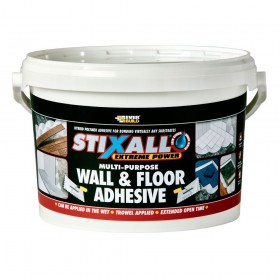 Everbuild Stixall Multi-Purpose Wall and Floor Adhesive White 4kg