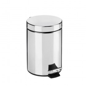 Croydex AJ657241 3 Litre Pedal Bin with Soft Close