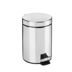 Croydex AJ657341 5 Litre Pedal Bin with Soft Close