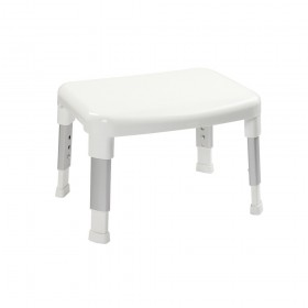 Croydex AP130222 Small White Adjustable Shower Stool