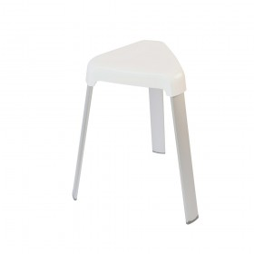 Croydex AP130622 3 Legged Plastic Shower Stool