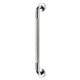 Croydex AP500741 600mm Stainless Steel Grab Bar with Anti-Slip Grip