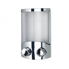 Croydex PA660941 Euro Dispenser Duo Chrome