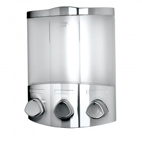 Croydex PA661041 Euro Dispenser Trio Chrome