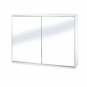 Croydex WC257022 Simplicity Double Door White MDF Self Assembly Cabinet