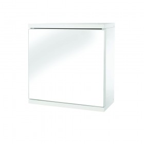 Croydex WC257122 Simplicity Single Door White MDF Self Assembly Cabinet