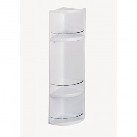 Croydex WC258022 3 Tier Plastic Bathroom Storage Unit