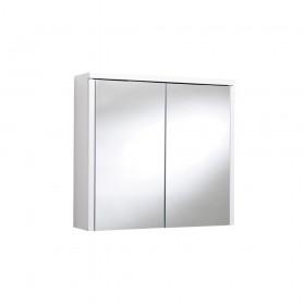 Croydex WC440322 Swivel Double Door Bi-View White MDF Cabinet