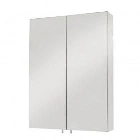 Croydex WC756105 Anton Double Door Stainless Steel Cabinet