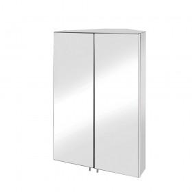 Croydex WC766105 Avisio Double Door Stainless Steel Cabinet