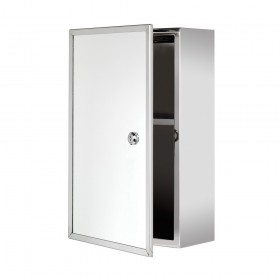 Croydex WC846005 Trent Lockable Stainless Steel Cabinet