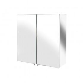 Croydex WC866105 Avon Double Door Stainless Steel Cabinet