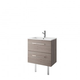 Croydex WS010731 Chinnock Grey 360mm Depth Vanity Unit