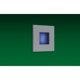 Firstlight LED Wall & Step Light Aluminium with Blue LED's