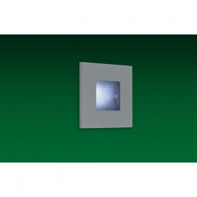 Firstlight LED Wall & Step Light Aluminium with White LED's