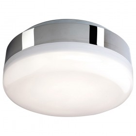 Firstlight Mini Hydro LED Flush Fitting Chrome with White Polycarbonate Diffuser