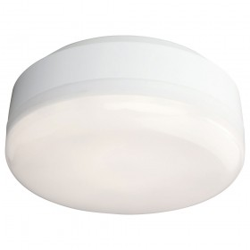 Firstlight Mini Hydro LED Flush Fitting White with White Polycarbonate Diffuser