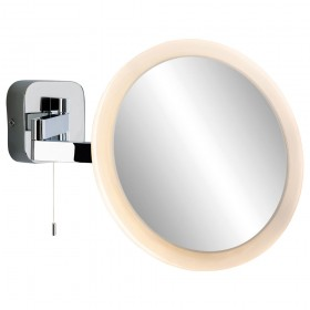 Firstlight Magnifying LED Mirror (Switched) Chrome