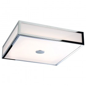 Firstlight Aruba LED Flush Fitting Chrome with Polycarbonate Diffuser