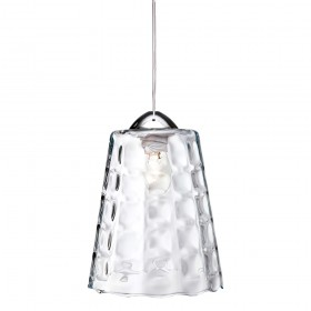 Firstlight 5904CH Bordeaux Pendant Chrome with Clear Glass
