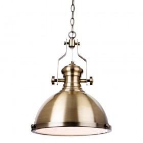Firstlight 5909AB Albion Pendant Antique Brass