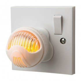Firstlight 5942AM LED Night Light White with Amber LED