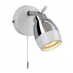 Firstlight Marine Single Spot (Switched) White with Chrome