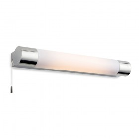 Firstlight Aspen 8w Wall Light (Switched) Chrome with Polycarbonate Diffuser