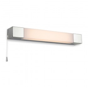 Firstlight Arora 8w Wall Light (Switched) Chrome with Polycarbonate Diffuser