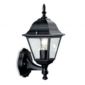 Firstlight 4 Panel Lantern - Uplight Black
