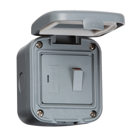 Knightsbridge IP6300 IP66 13A Switched Fused Spur Unit