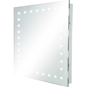 Knightsbridge RCT5039 IP44 Rectangular Mirror