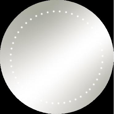 Knightsbridge RCT5048 IP44 Round Mirror