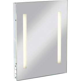 Knightsbridge RCTM2T8 IP44 Rectangular Mirror C/W Dual Voltage Shaver Socket