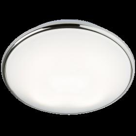 Knightsbridge Ip20 38W 2D Bulkhead Opal Diffuser & Chrome Base - HF