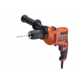 Black & Decker Hammer Drill 500W 240V with Drill Bit Set 8 Piece - XMS19BD500WD